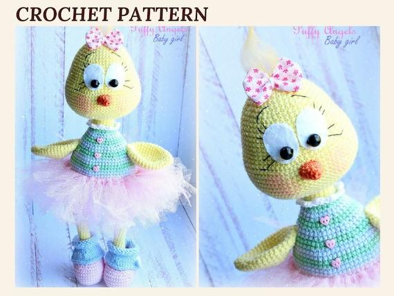 Pattern Easter Chick Lili Crochet Chicken Easter Chicken Bird Etsy