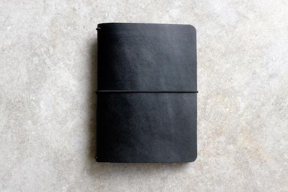 Passport Vaccination Passport Case Travel Wallet Leather, Black