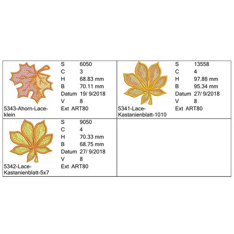 kastanienblatt form