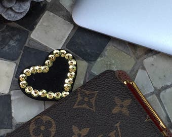 planner clip, heart, paper clip