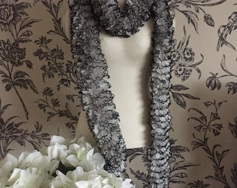 SALE PRICE Handmade sequin scarf