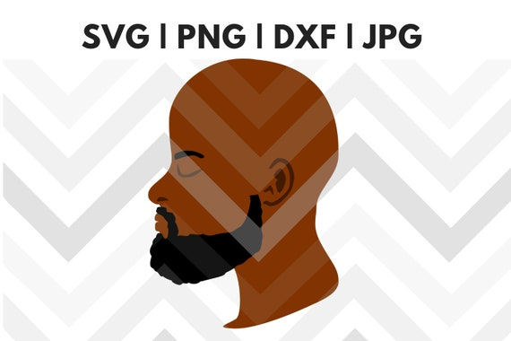 gold crown svg beautiful black king svg file,black king silhouette svg black bald king with beard svg computer drawing,SVG, bald man svg
