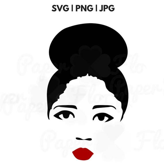 Svg File Black Woman Svg File Ethnic Svg File African Svg File Etsy