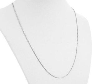 Necklace, necklace, stainless steel, snake necklace, 50.50 cm, 26345