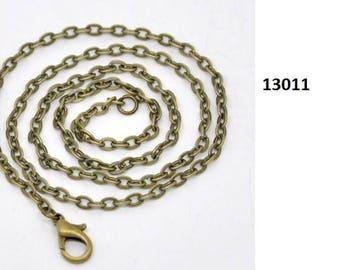 Chain, chain, chain, 46 cm, bronze
