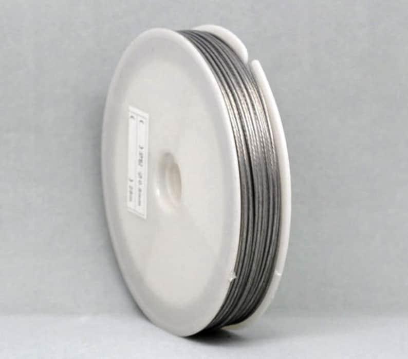 Jewelry wire Wire Encased Jewellery wire 0.38 mm.,045 mm.50 mm.0.60 mm 8.80 mm