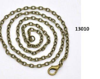 Chain, chain, chain, 41 cm, bronze