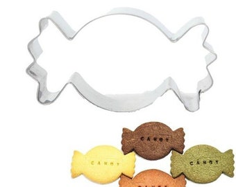 Cutting, candy, stainless steel, cookies, pastries, baking moulds, 45x84x20 mm