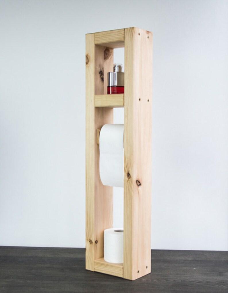 WC-Papierhalter. Regale für Badezimmer. Bad-Accessoires. | Etsy