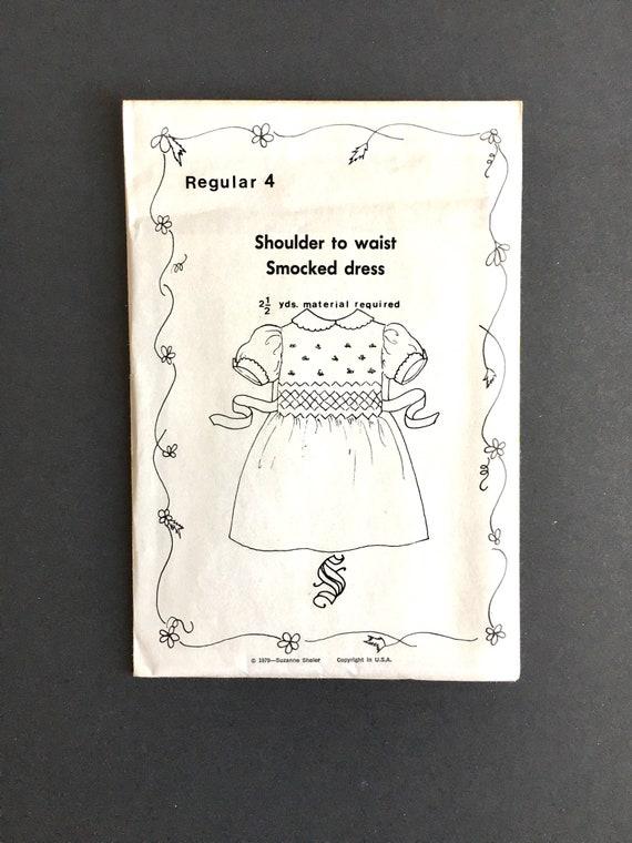 Girls smocked dress pattern, Heirloom Smocking Patterns, Heirloom ...