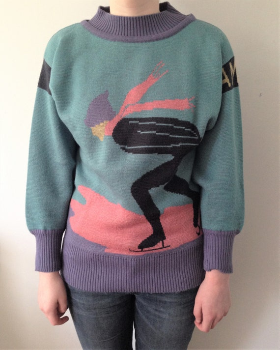 Lovely 80s Mondi sweater // Vintage 80s Mondi swea
