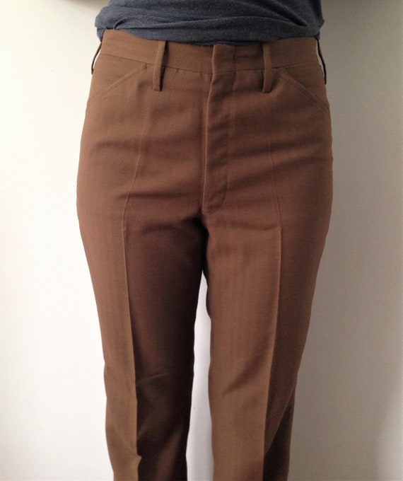 Vintage 60s pants/trousers // 60s Straight leg Tre