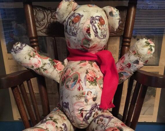 Vintage Valentine Bear