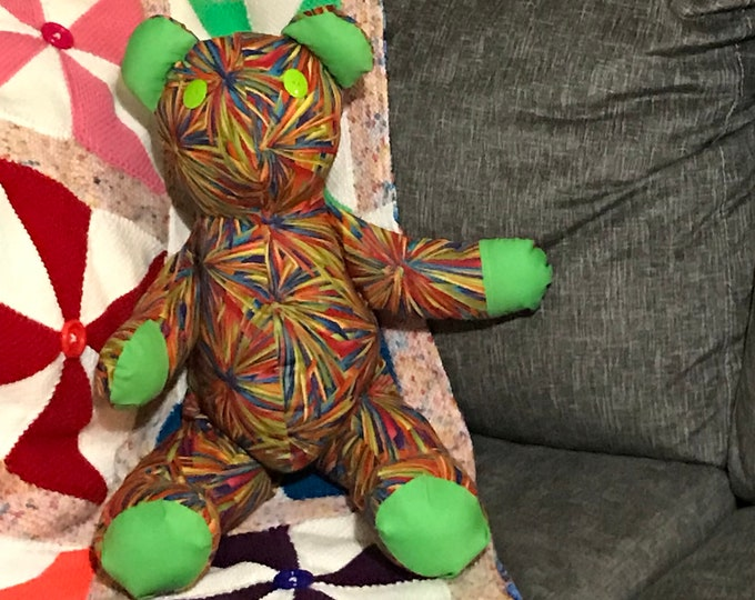 Kaleidoscope the Teddy Bear