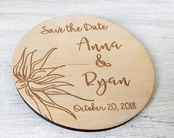 Save the Date Wedding Save the Date Magnet Save the Date Rustic Wedding Invitation Wedding Magnet Personalized Wooden Magnets Wedding Favors