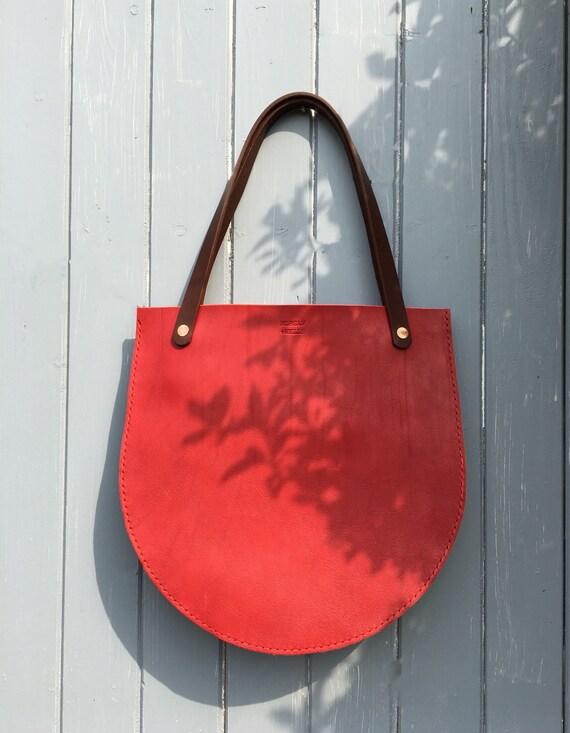 Morgan + Wells 'York' tote bag // Hand stitched leather tote bag // leather tote // Work bag // Handbag // Made in Yorkshire