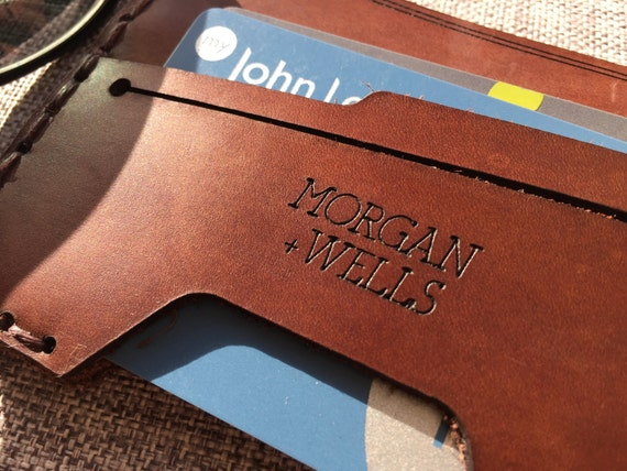 9bacf64e347a Morgan Wells  Grainger  leather wallet    gifts for