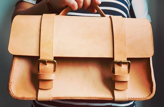 Morgan + Wells 'The Jack' Cambridge bag // Hand stitched leather handbag // Doctor's bag // Work bag // Handbag // Made in Yorkshire