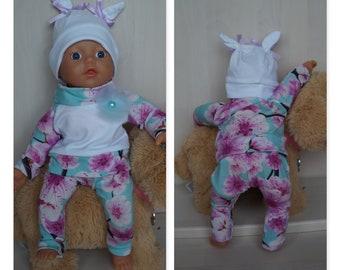mit Hasen Baby Born oder andere Puppen Puppenmütze