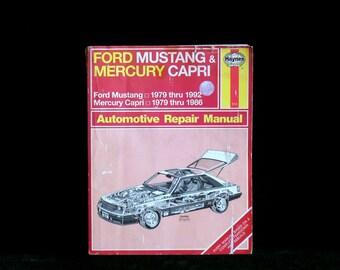 ford mustang 1979 1992 service repair manual