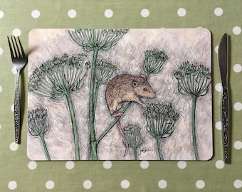 Harvest Mouse Placemats / Tablemats