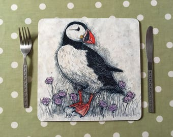 Puffin Placemats / Tablemats