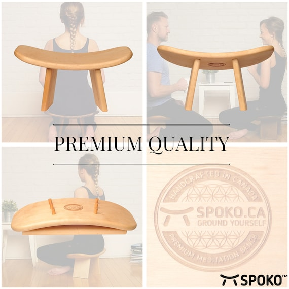 Astounding Spoko Meditation Bench Travel Version The Original Andrewgaddart Wooden Chair Designs For Living Room Andrewgaddartcom