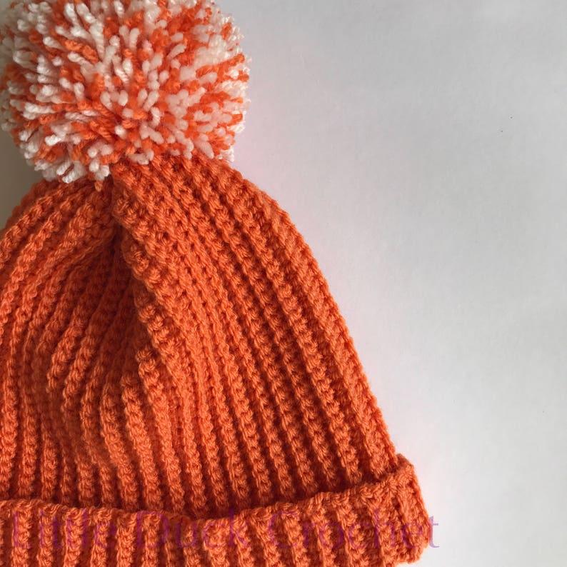 2b07e8fe743 Crochet hat crochet children s hat crochet bobble hat
