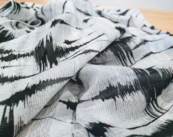 Earthquake Scarf - Scarf - infinity scarf
