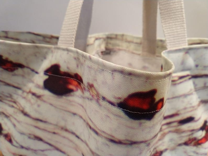 tote bag satchel Photomicrograph Tote craft bag