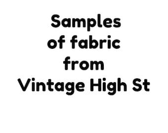 Samples of VintageHighStExtra's fabrics