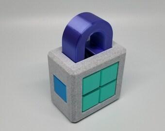 Side Lock 3D Printed Puzzle