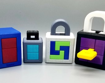Christoph Lohe 3D Printed Burr Locks and Puzzles