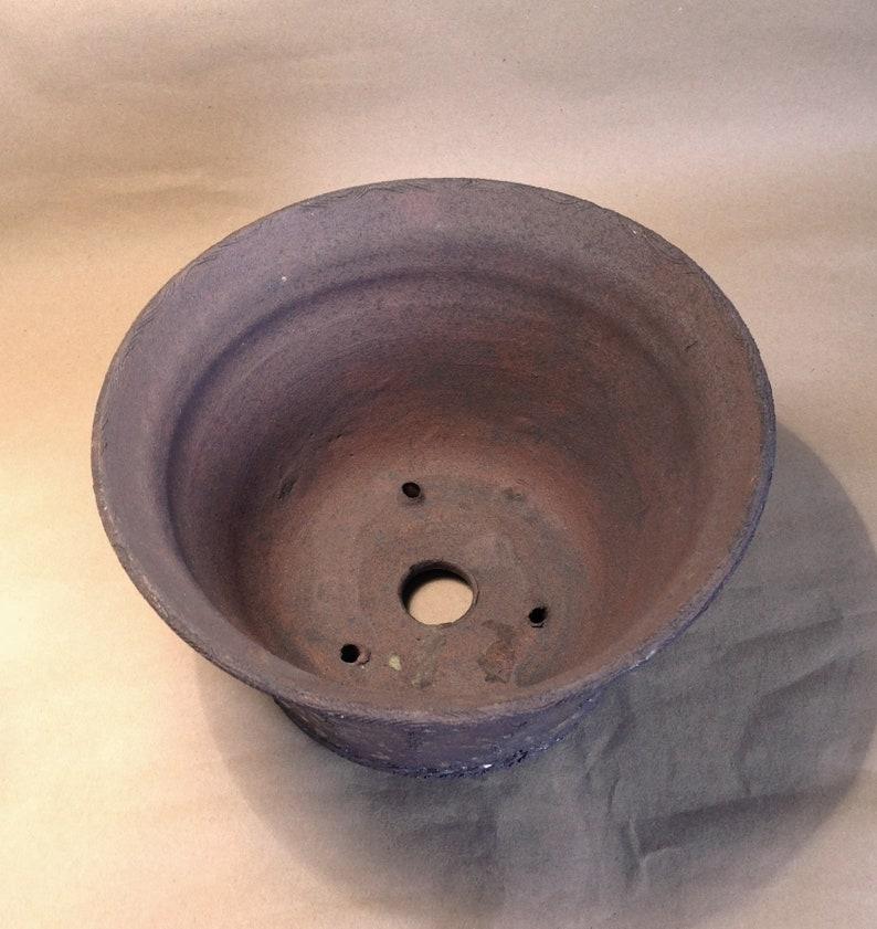art Competition bonsai flowerpot unique piece Gres clay Bonsai Pot Stoneware made ceramics. Bungin exhibition made by GaloArtworks