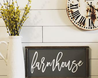Farmhouse Decor, Farmhouse Sign, Farmhouse Signs, Distressed Sign