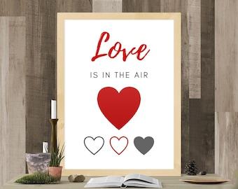 Digital printing. Love is in the air