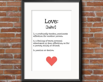Poster 'The meaning of Love'