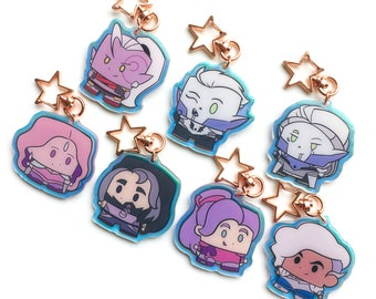 Charms/keychains