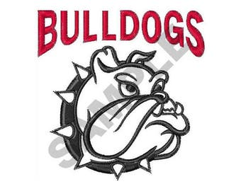 Bulldogs - Machine Embroidery Design