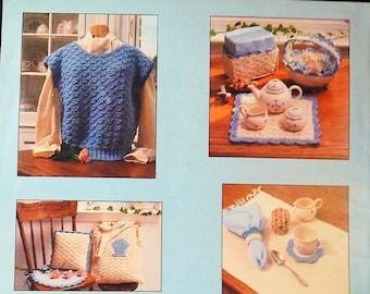 Plastic Canvas Appliques Pattern Book Pat Depke Books Home Decor