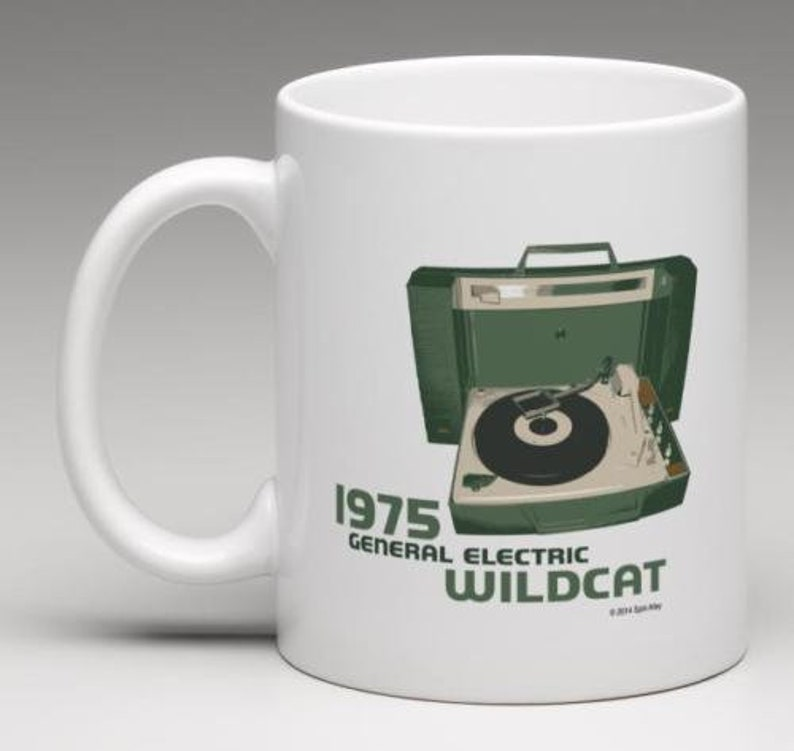 Spin Alley The Icons General Electric Wildcat Coffee Mug image 0