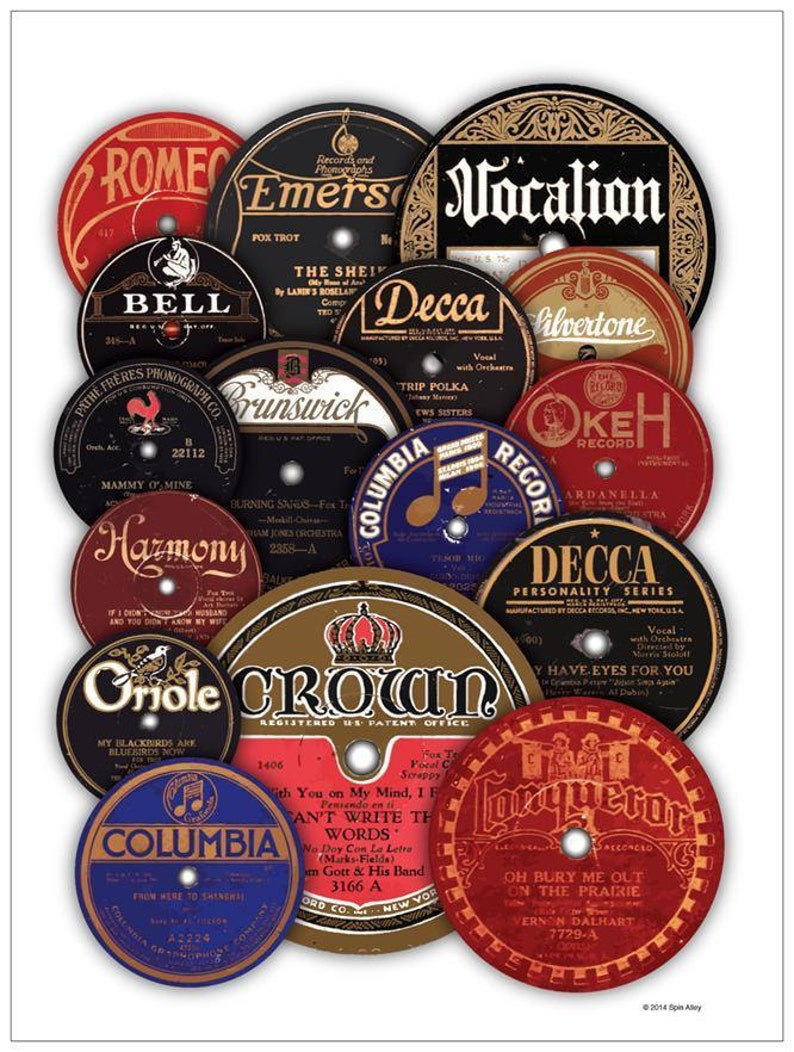 Spin Alley 78 Record Labels Poster image 0