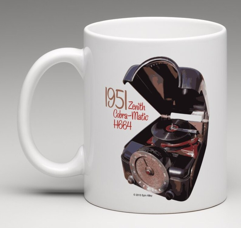 Spin Alley The Icons Zenith Cobra-Matic H664 Coffee Mug image 0