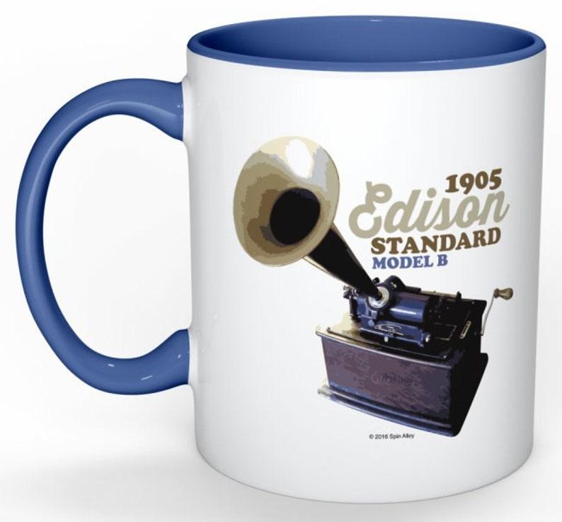 Spin Alley The Icons Edison Standard Phonograph Coffee Mug image 0