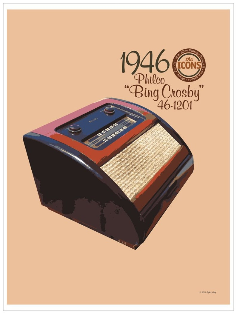 Spin Alley The Icons Philco 46-1201 Bing image 0