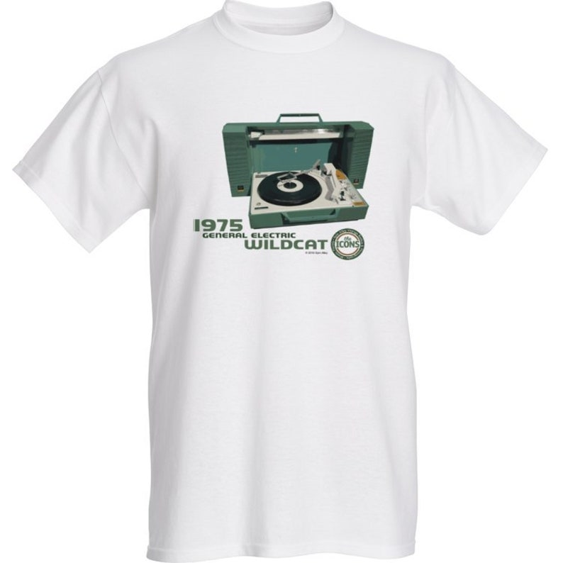 Spin Alley The Icons General Electric Wildcat T-Shirt  image 0