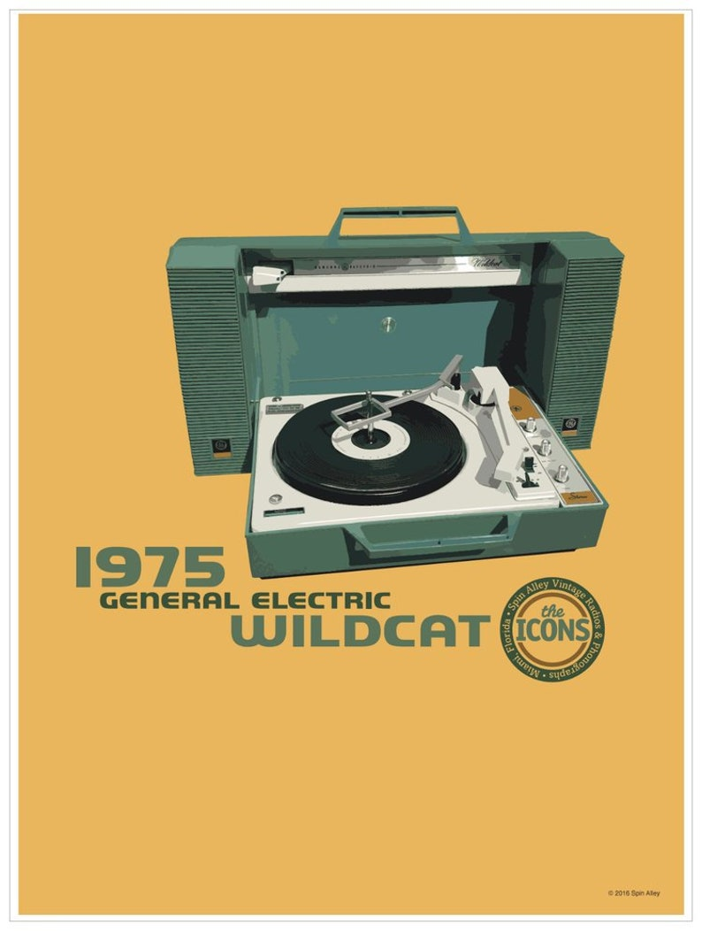 Spin Alley The Icons General Electric Wildcat image 0