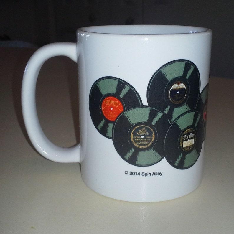 Spin Alley 78 Vintage Records Coffee Mug image 0
