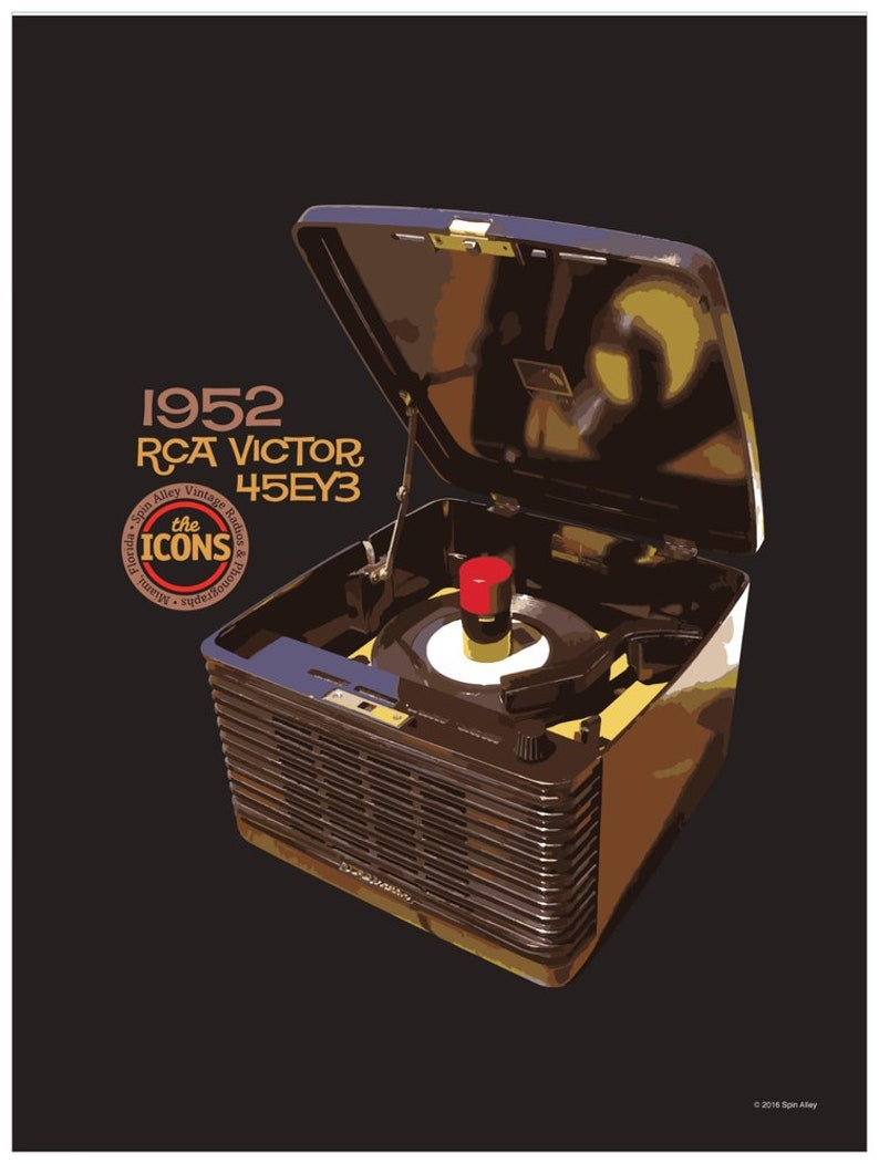 Spin Alley The Icons RCA Victor 45-EY-3 Poster image 0