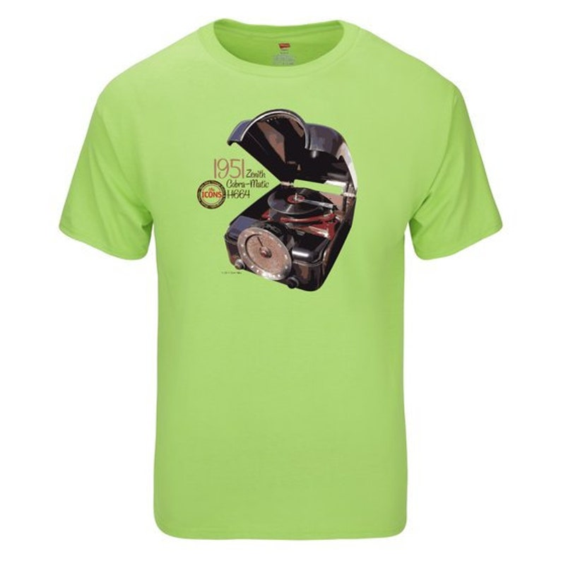 Spin Alley The Icons Zenith Cobra-Matic H664 T-Shirt  image 0